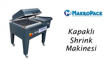 Makropack Manuel Kapaklı Shrink Ambalaj Makinesi