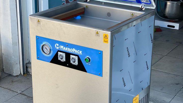 Makropack 41 Cm Çift Çene Ayaklı Vakum Makinesi