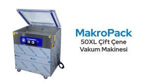 MakroPack 50XL Çift Çene Vakum Makinesi